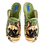 Thumbnail: ALBEROLA HAUSSCHUH PANTOFFEL HERREN HELLE SOHLE BULLDOGGE AC5791AS