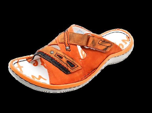 Krisbut Pantolette SCHMAL 7031-6-1 Orange