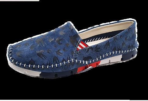 Cosmos Slipper 6124-402-8 Blau