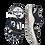 Thumbnail: Krisbut Sandalette 2118A11-1 Schwarz