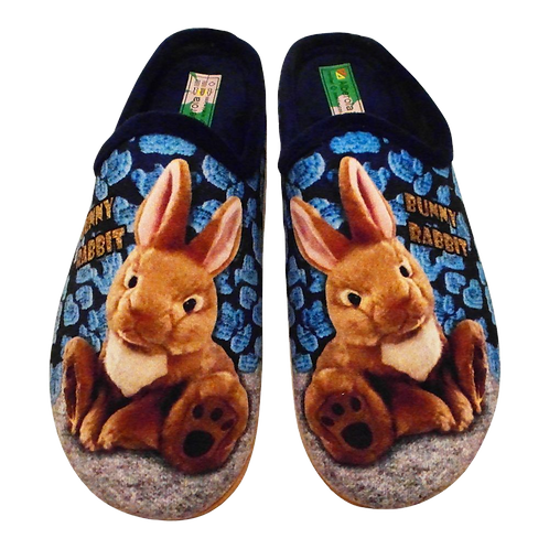 ALBEROLA HAUSSCHUH / PANTOFFEL HELLE SOHLE HASE A8663A