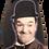 "Thumbnail: ALBEROLA HAUSSCHUH / PANTOFFEL HELLE SOHLE AC7120A  ""DICK & DOOF"" LAUREL & HARDY"