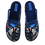 Thumbnail: ALBEROLA HAUSSCHUH / PANTOFFEL HELLE SOHLE AC6971A BIKER MC MOTOR CYCLES