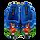Thumbnail: ALBEROLA KINDER HAUSSCHUH / PANTOFFEL HELLE SOHLE A2373A FUSSBALL-TIGER
