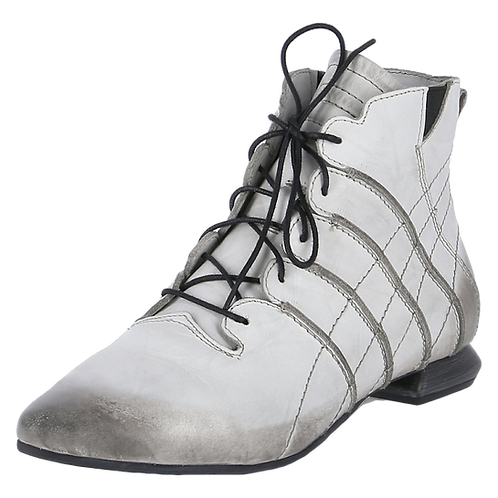 SIMEN Komfort-Stiefelette 2851A Grau Weite G