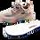 Thumbnail: Artiker Sneaker Rosa-Grau  / Regenbogensohle 48C1371