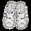 Thumbnail: Krisbut Sandalette 7053-3-1 Weiss