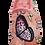 Thumbnail: ALBEROLA HAUSSCHUH / PANTOFFEL HELLE SOHLE SCHMETTERLINGE X25767A