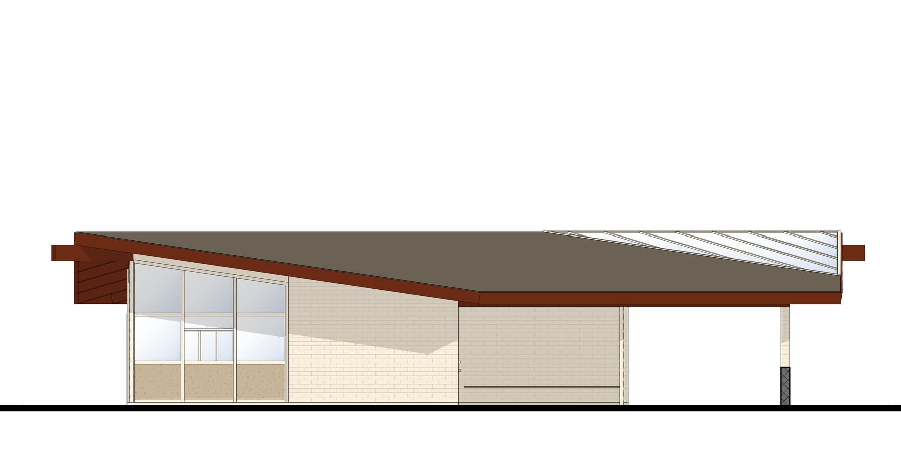 Gate House Rehabilitation Concept Rendering