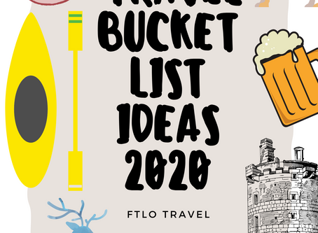 2020 Travel Bucket List Ideas: Things To Try, Places to See, Foods to Enjoy