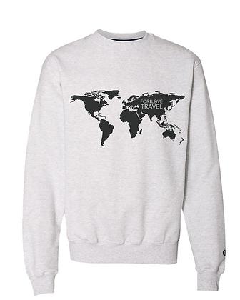 Oversized Crewneck Atlas Sweatshirt
