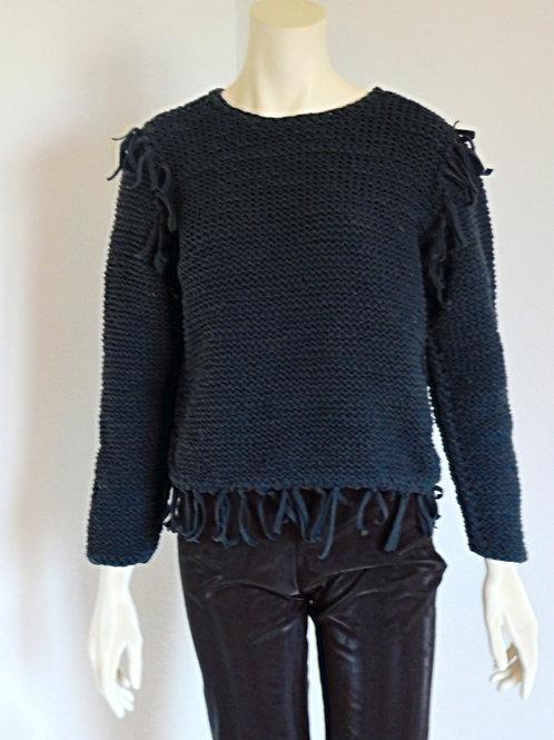 Pletený svetr ruční práce