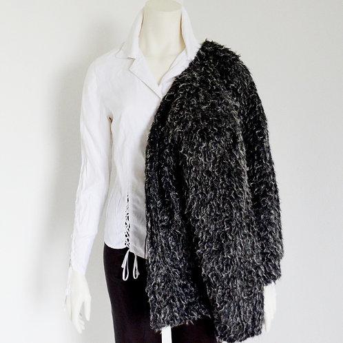 Oversize svetr - kabátek