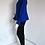 Thumbnail: Modré sako se šněrováním na rukávech