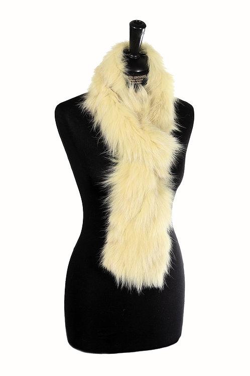 Kožešinový šál/límec  z barvené lišky