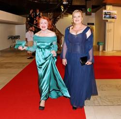 Saty Petra Kocianova Fashion Designererečka Iva Janžurová se Sabinou Remundovou Festival Karlovy Var