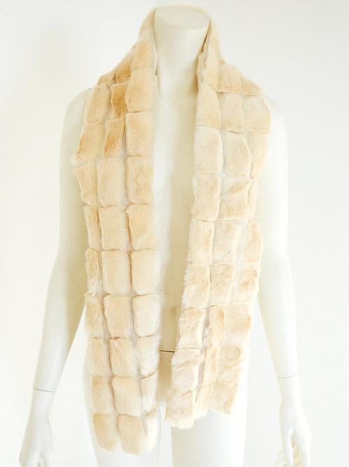 Oboustranná kožešinová šála