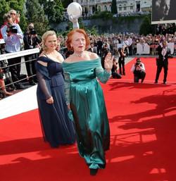 Iva Janžurová se Sabinou Remundovou Festival Karlovy Vary