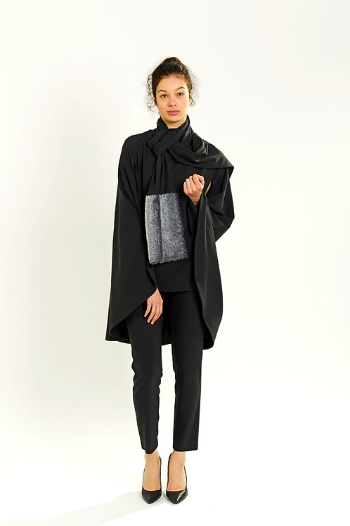 Cape with scarf