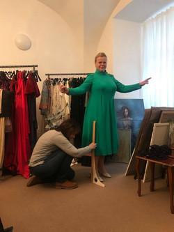 Sabina Remundová v atelieru