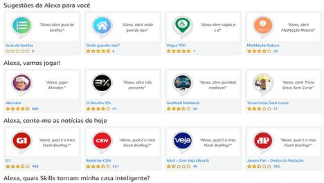Skills (Habilidades) Alexa Amazon