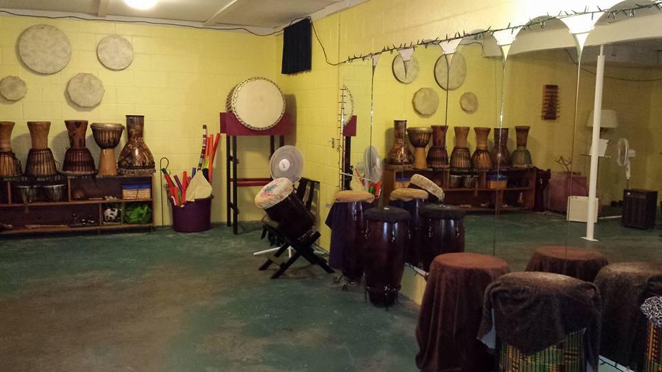 Southern Indiana Taiko drum studio, Columbus Indiana