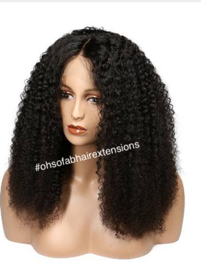 Natural Curl Full Lace Wig
