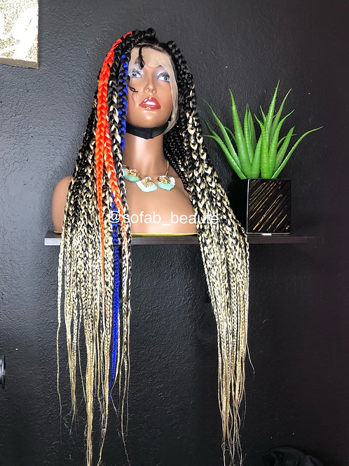 Me.Lady52 (Ombre w/different colors)