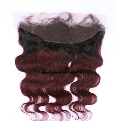 COLORED 13X4 Lace Frontal