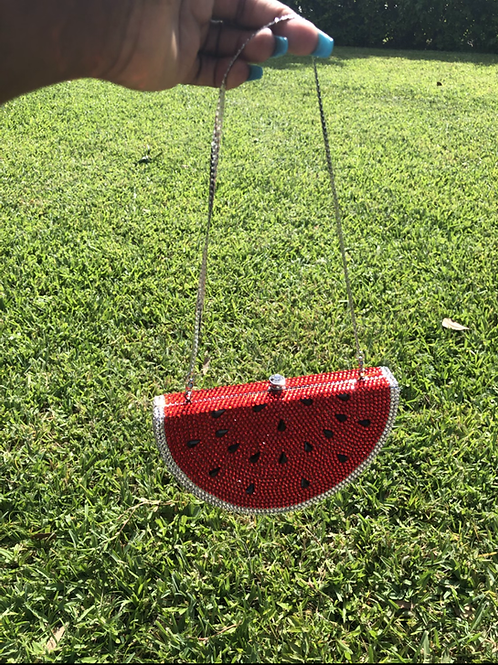 Watermelon Crystal Purse