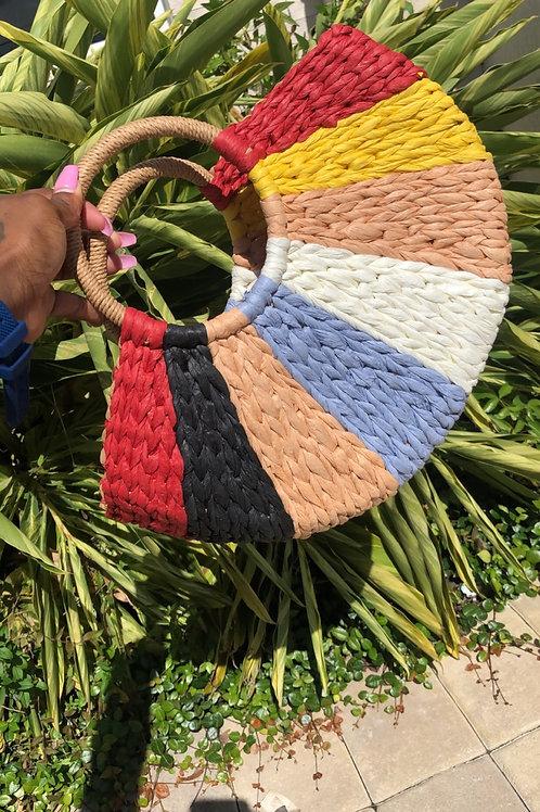 Straw Weave Handbag