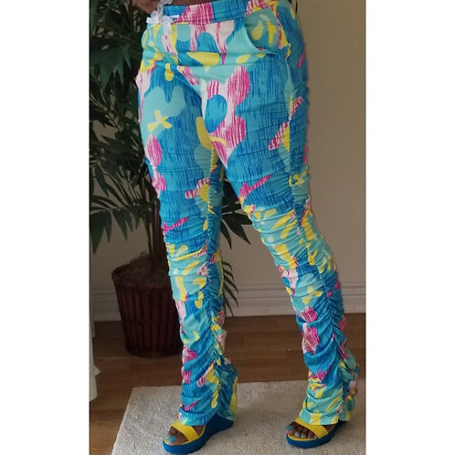 "The ""Spring Colorful "" Stacked Pants / Pre-Sale"