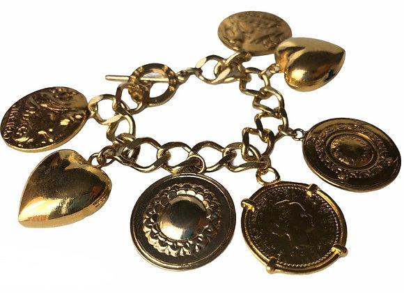 Pulseira Love Coins