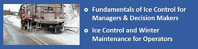Link to Winter Road Maintenance Training
