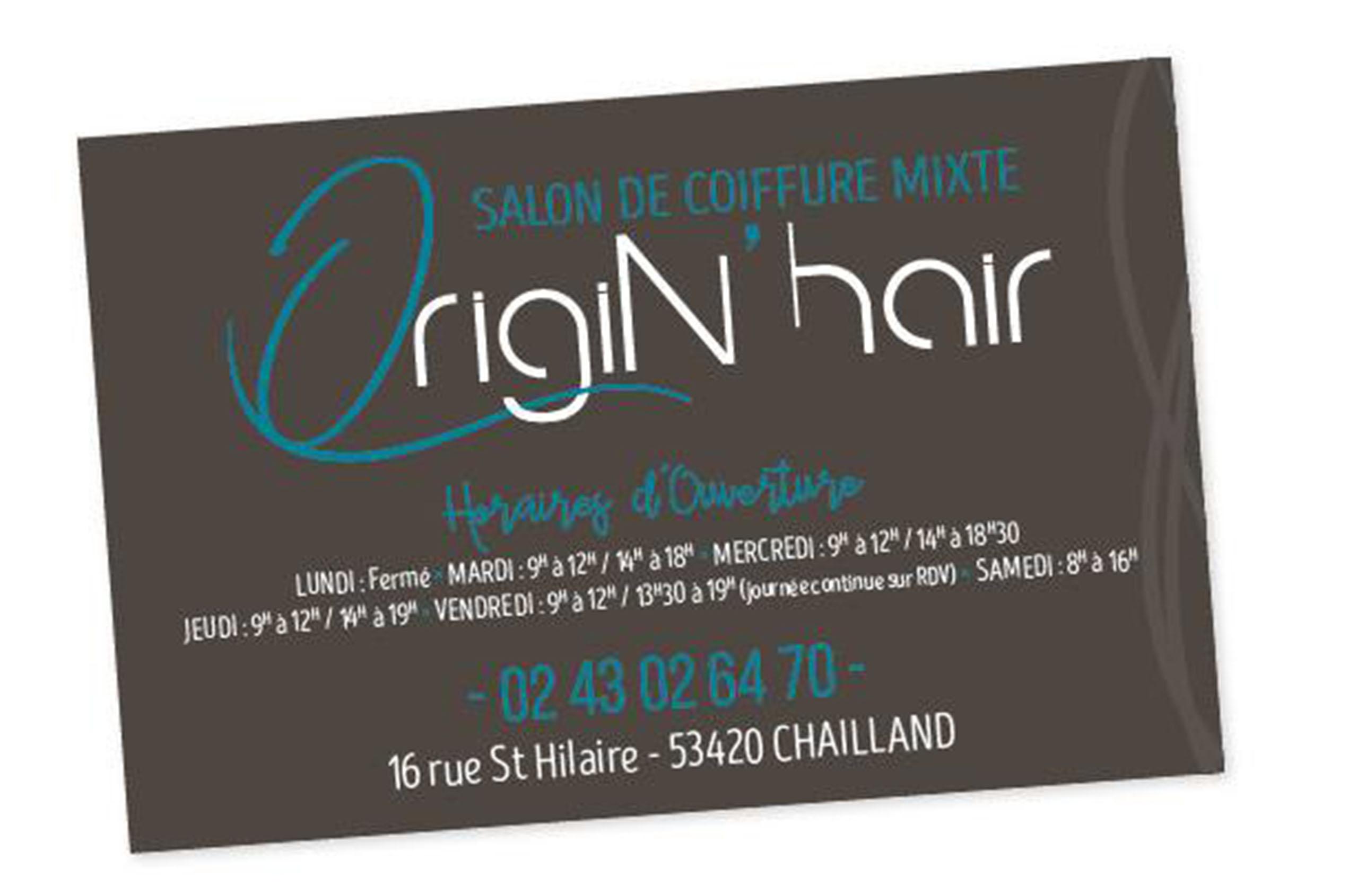 Origin' hair