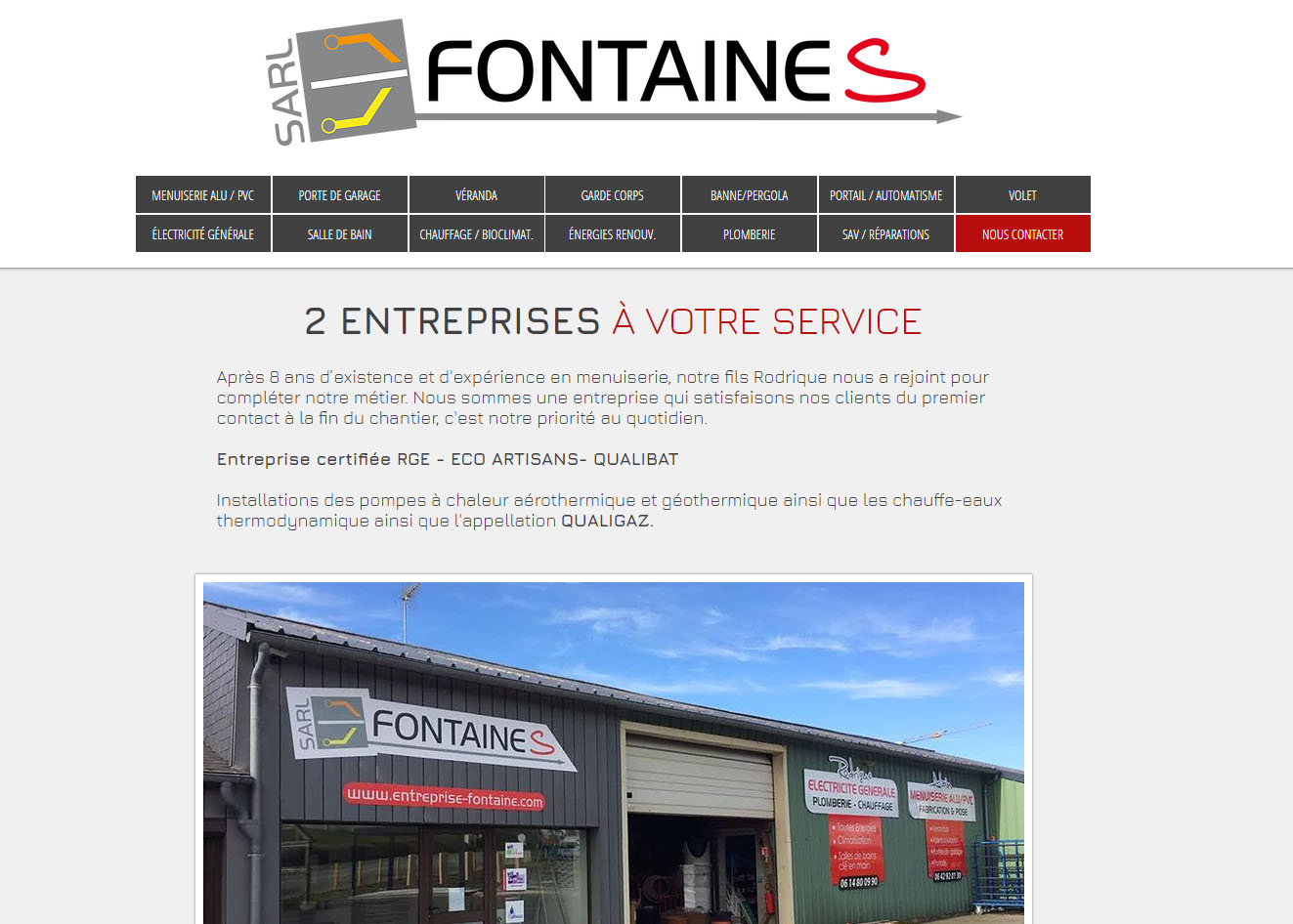 SARL Fontaines