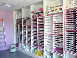 Salle de preparations des medicaments