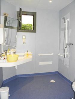 Salle de bain nouveau batiment