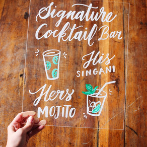 4 Easy Steps For Calligraphy on Mirrors