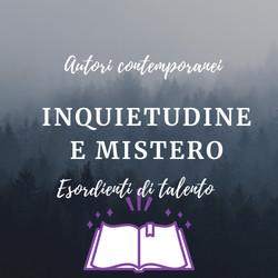 Inquietudine e mistero - autori contemporanei