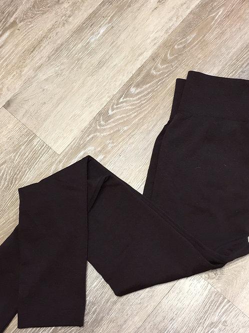Brown fleece legging