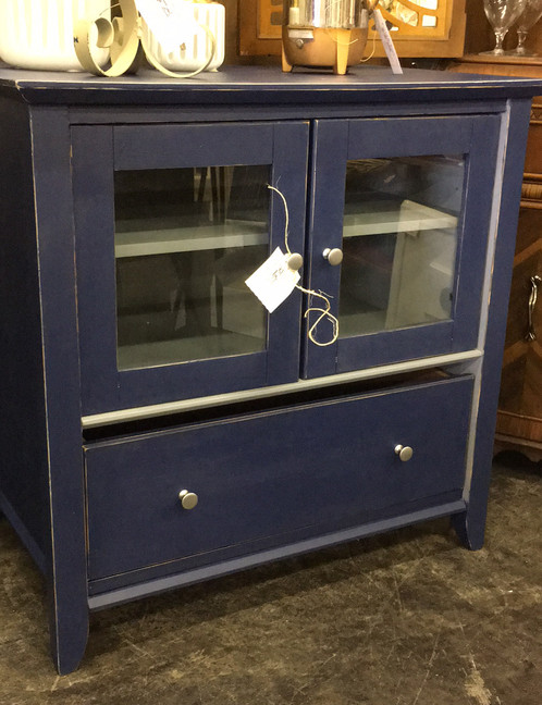 Storage Cabinet / TV Stand   Vintage Home Decor   Indiana   Trinkets N  Threads