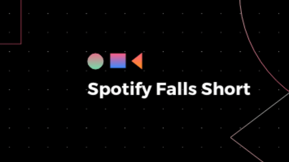 Spotify Falls Short