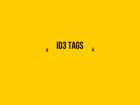 ID3 Tags: Still Relevant Today