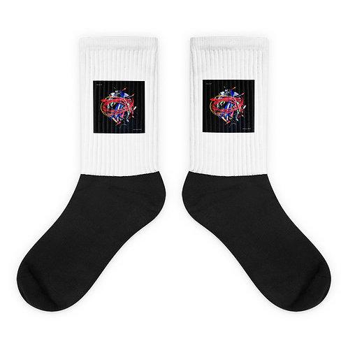Anxiety Rock Socks