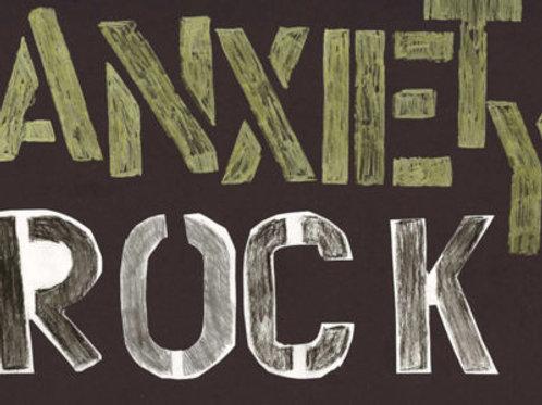 Anxiety Rock Art Book