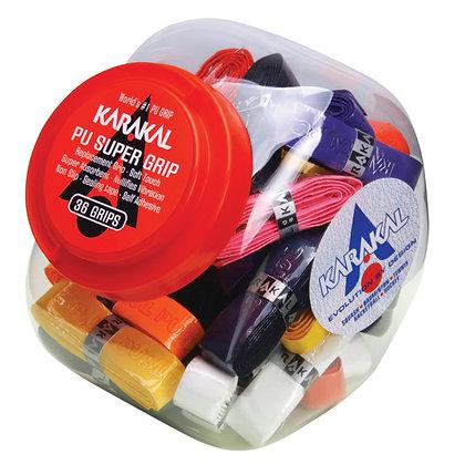 Karakal PU Super Grip x 36 (Assorted)