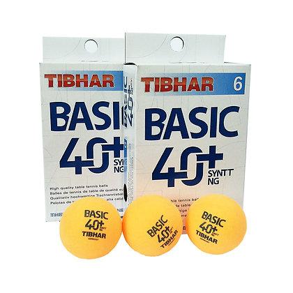 Tibhar 2 star basic 40+ syntt ng ball (doz) orange