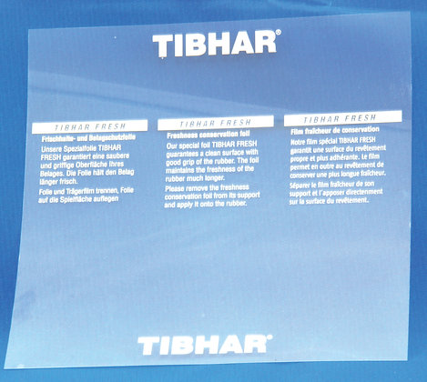 Tibhar protection sheet