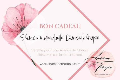 Bon Cadeau - Séance individuelle Dansethérapie